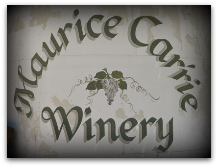 Maurice Car'rie Winery