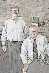 T - Steve & John sketch