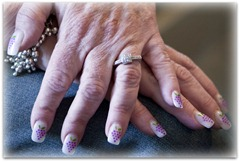 Cathy's grape nails