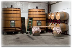 Palmina Barrel (and party) Room