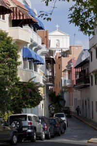 alley in old san juan