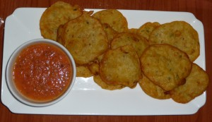 cod fritters at latin roots, san juan, puerto rico