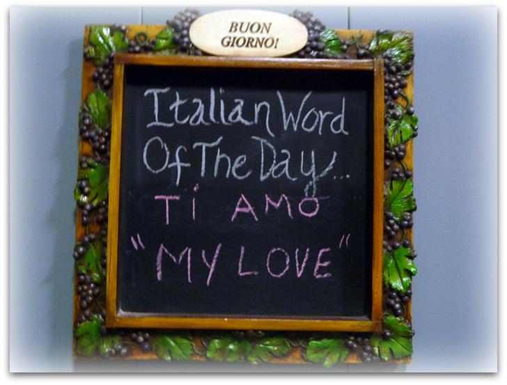 Italian Lesson at Renzoni