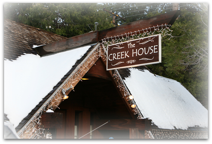 creek house - p