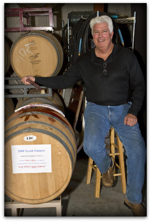 Falkner's winemaker Steve Hagata