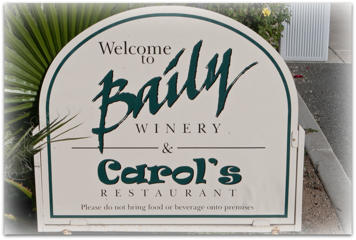 Carol's Restaurant at Baily Winery