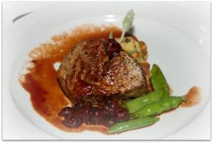 Thornton Winery grilled pork ribeye