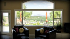 Beautiful scenery from the perch in the Bel Vino House of Temecula, CA