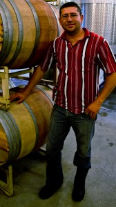 Wineormous visits Cellar Master Salvador Maron at Corison Winery in St. Helena, CA