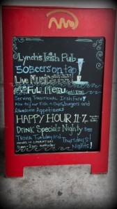 Wineormous-Lynch's-Irish-Pub in Jacksonville Beach, Florida