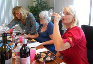 WINEormous and Women's Wine Council members in Temecula, CA