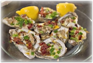 WINEormous Five-Moon oysters
