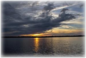 WINEormous sunset near Darien
