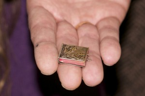 WINEormous looks at world's smallest cookbook.