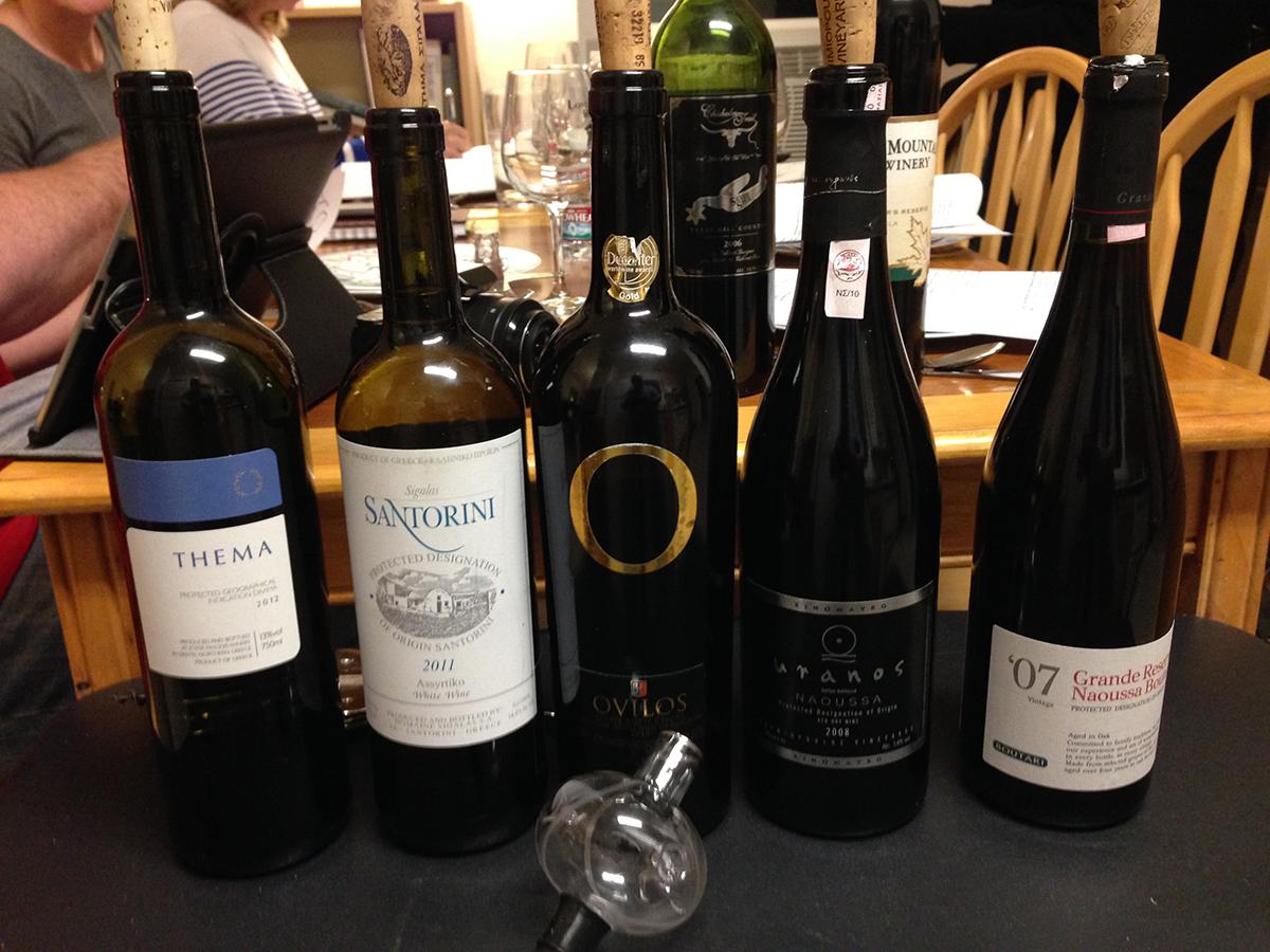 WINEormous tastes Greek wines