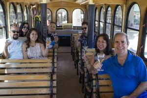 WINEormous on Empire Trolley