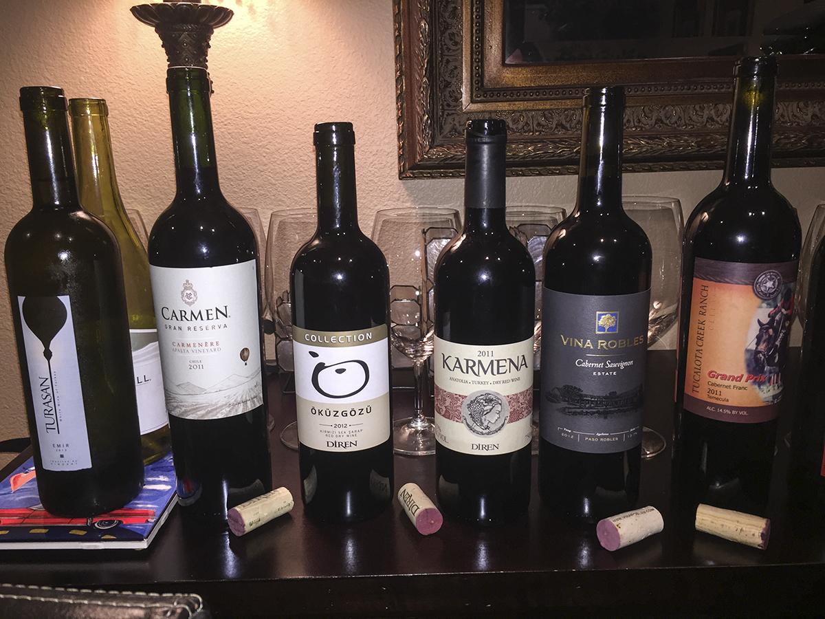 WINEormous wine tasting