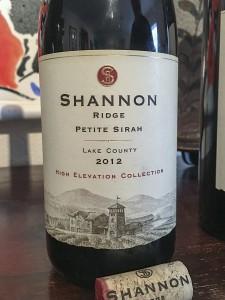 WINEormous Shannon Ridge Petite Sirah