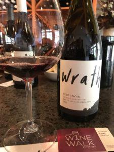 WINEormous at Wrath wine
