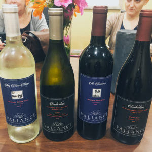 WINEormous Valiance wines