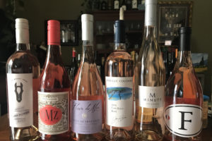 WINEormous rosé wine tasting