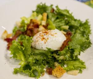 WINEormous Salade Lyonnaise