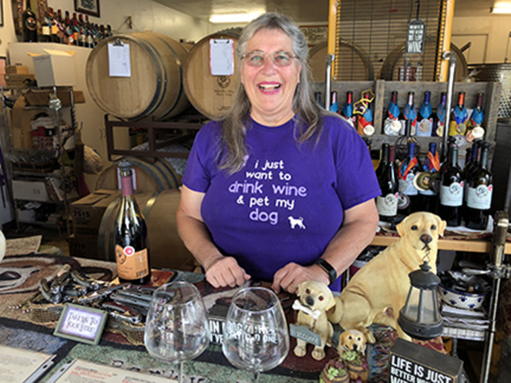 Temecula wine tours at Woof 'n Rose