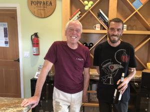 Temecula wine tours at Poppaea Vineyard