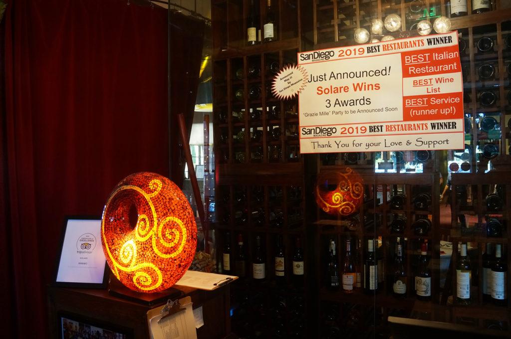 San Diego Restaurant Week Solare Lounge